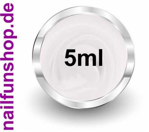 Frenchgel 5ml Soft White - hochdeckend - mittelviskose