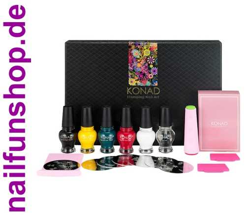 KONAD Classic Collection II - Professionelles Stamping Set