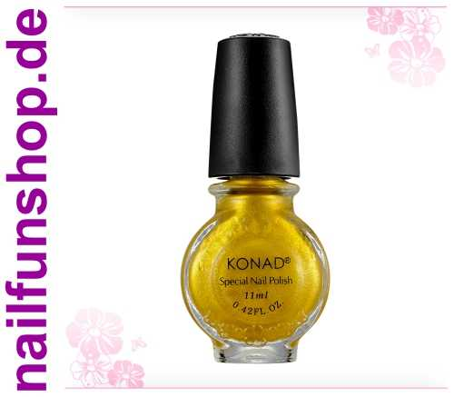 KONAD Stamping Lack S04 Gold, 1er Pack, 11ml
