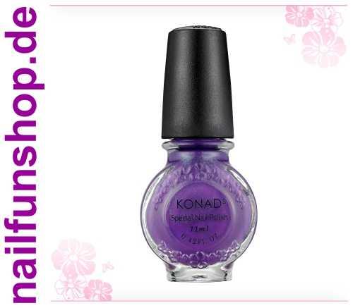 KONAD Stamping Lack S18 Violet Pearl, 1er Pack, 11ml