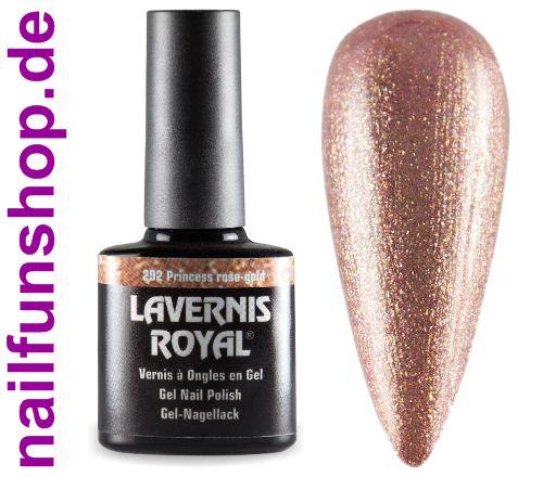LAVERNIS ROYAL 3in1 Gel Nagellack - 292 Princess rose-gold