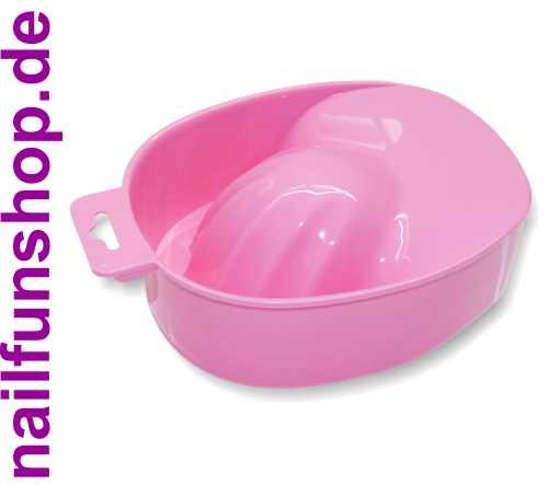 Maniküreschale rose / rosa / pink ergonomisch geformt Handbad