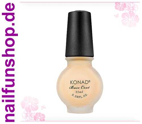 KONAD Special BASE-COAT, 1er Pack, 11ml