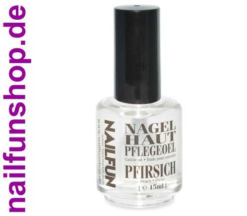 Nagelhautpflegeöl Nagelöl Peach / Pfirsich 15ml in der Pinselflasche