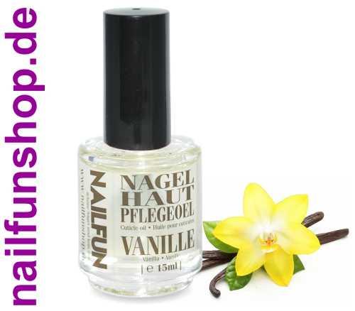 Nagelhautpflegeöl Nagelöl Vanilla / Vanille 15ml in der Pinselflasche