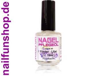 Nagelhautpflegeöl Nagelöl Flieder - Lilac 15ml in der Pinselflasche