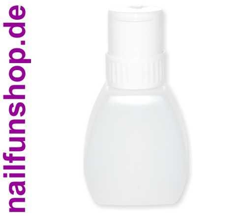 Dispenser / Pumpflasche transparent-milchig ca. 250ml Fassungsvermögen (leer)