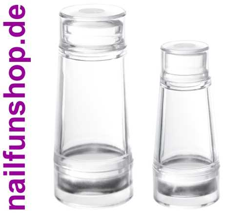 Doppelpack Clear Jelly Stamper - klein und gross - Doppelseitig