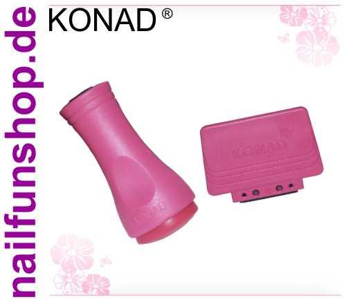 Konad ® Stamping - Stempel + Scrapper (Schaber) Set II