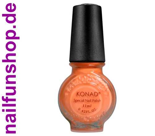 KONAD Stamping Lack NEON-ORANGE, 1er Pack, 11ml