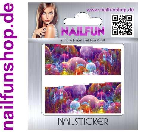 1 Bogen One Stroke Fullcover C092 Sticker Nailsticker