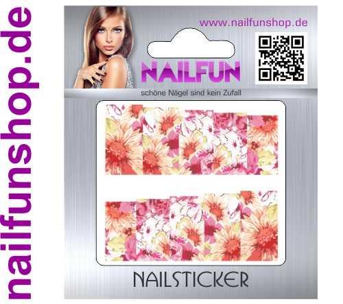 1 Bogen One Stroke Fullcover C109 Sticker Nailsticker