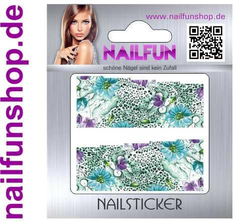 1 Bogen One Stroke Fullcover C118 Sticker Nailsticker