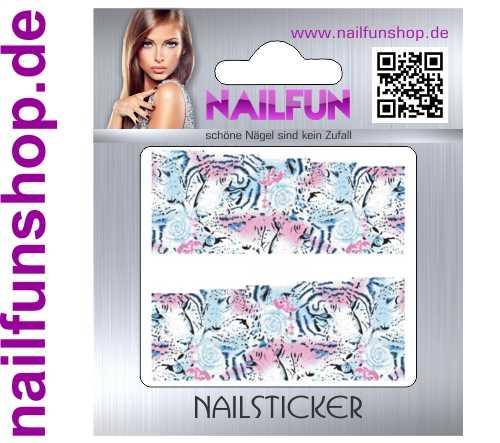 1 Bogen One Stroke Fullcover C119 Sticker Nailsticker