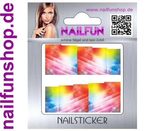 1 Bogen One Stroke Fullcover C123 Sticker Nailsticker