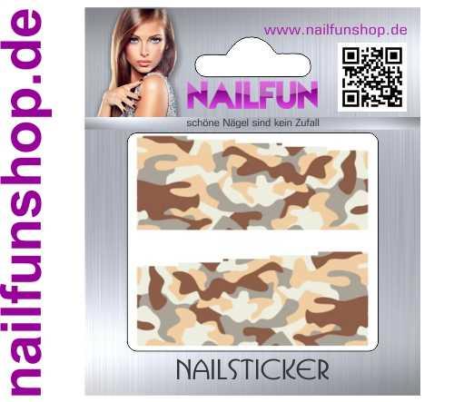 1 Bogen One Stroke Fullcover C127 Sticker Nailsticker