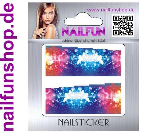 1 Bogen One Stroke Fullcover C128 Sticker Nailsticker