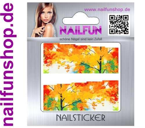 1 Bogen One Stroke Fullcover C136 Sticker Nailsticker