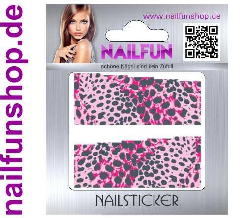 1 Bogen One Stroke Fullcover C140 Sticker Nailsticker