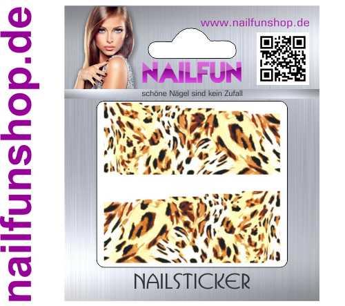 1 Bogen One Stroke Fullcover C141 Sticker Nailsticker