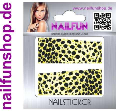 1 Bogen One Stroke Fullcover C142 Sticker Nailsticker