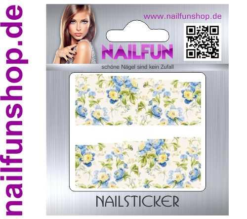1 Bogen One Stroke Fullcover C149 Sticker Nailsticker