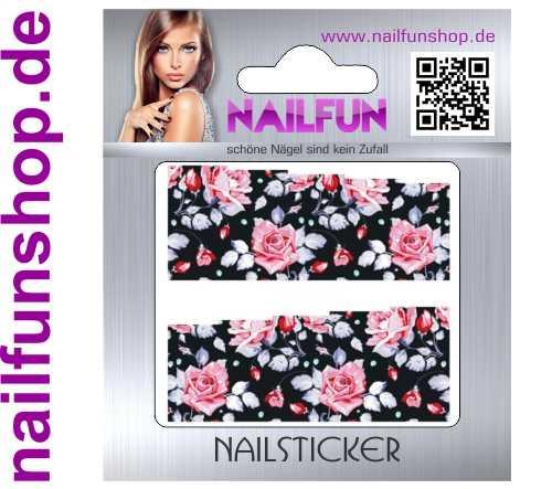 1 Bogen One Stroke Fullcover C150 Sticker Nailsticker
