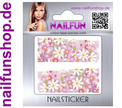 1 Bogen One Stroke Fullcover C161 Sticker Nailsticker