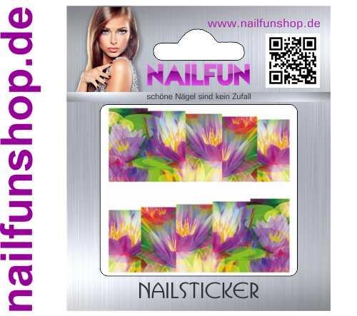 1 Bogen One Stroke Fullcover C169 Sticker Nailsticker