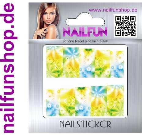 1 Bogen One Stroke Fullcover C171 Sticker Nailsticker