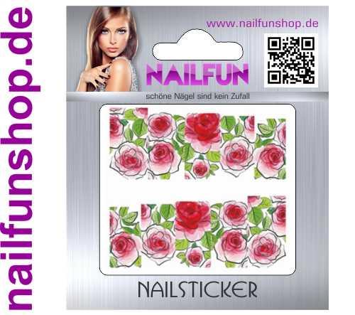 1 Bogen One Stroke Fullcover C172 Sticker Nailsticker