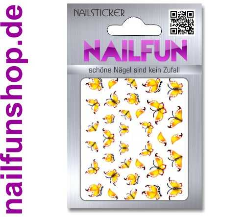1 Bogen One Stroke Sticker K013 selbstklebende Nailsticker Nailart Nail-Tattoo