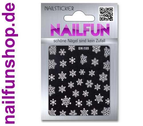 Weihnachten 3D Design Nail Sticker SN-105 Christmas Nagelsticker selbstklebend