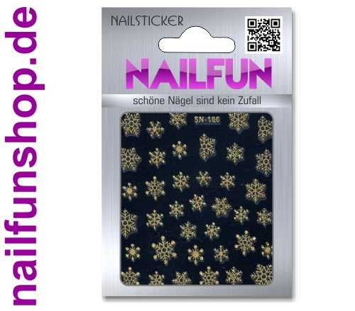 Weihnachten 3D Design Nail Sticker SN-106 Christmas Nagelsticker selbstklebend