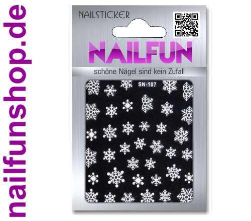Weihnachten 3D Design Nail Sticker SN-107 Christmas Nagelsticker selbstklebend