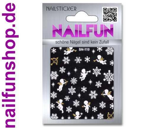 Weihnachten 3D Design Nail Sticker SN-110 Christmas Nagelsticker selbstklebend