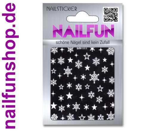 Weihnachten 3D Design Nail Sticker SN-111 Christmas Nagelsticker selbstklebend