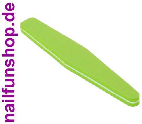 Buffer-Feile SUPERFLEX Feile Trapez grün Körnung 180/180 beidseitig fein