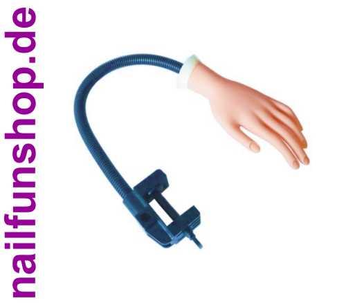 Übungshand mit Tischhalterung und beweglichen Fingern (Schraubhalterung)