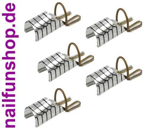 Schablonen Modellierschablonen wiederverwendbar 5 Stück in Box silber Teflon