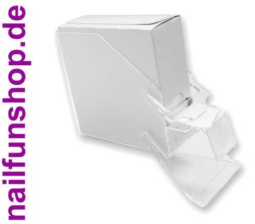 Zelletten-Spender aus Acryl inkl. 1 Packung 250er Zelletten