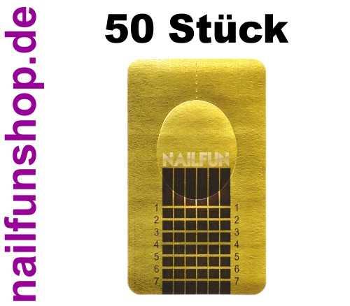 50 selbstklebende Schablonen SQUARE-GOLD Goldschablonen perforiert