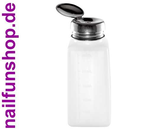 Pump Dispenser / Pumpflasche 250ml mit Metalldeckel (leer)