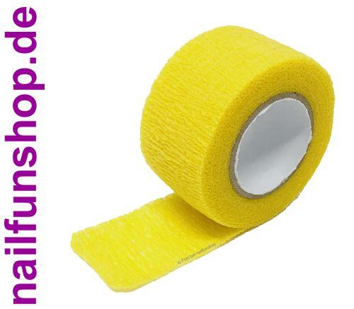 1 Rolle Flex Fingerschutzband gelb - Feilschutz - dehnbar und selbsthaftend