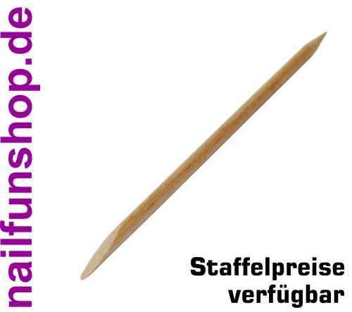 Rosenholzstäbchen Holzstäbchen Manikürstäbchen mit spitzer und flacher Seite